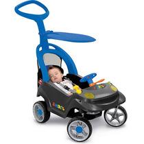 Carrinho E Andadador Smart Baby Mini Veículo Comfort Azul -