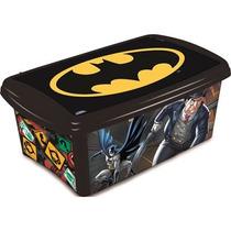 Caixa Organizadora P/ Brinquedos Batman
