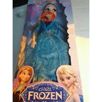 Boneca Frozen Musical Ana Ou Elza