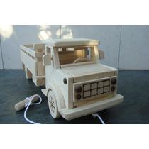 Caminhão De Madeira - Dodge D-950 - Casamento - Artesanato
