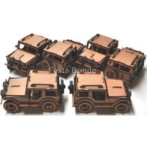 Jeep Carrinho Em Mdf - Lindo Brinquedo - Pronta Entrega