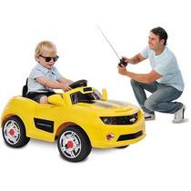 Carro Elétrico Camaro Amarelo 6v - Bandeirante