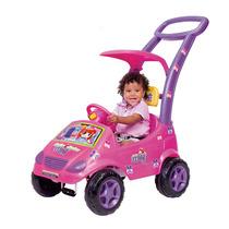 Carrinho Roller Baby Versátil Meg Rosa - Magic Toys.