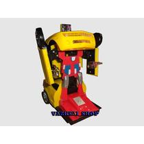 Carrinho Camaro Amarelo Transformers Vai As Pilhas De Brinde