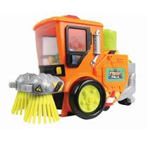Caminhão Varredor De Rua - Trash Pack - Série 2 - Dtc 3005