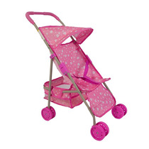 Carrinho De Boneca Ana Rosa 1341 Pink - Bee Me Toys
