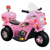 Moto Elétrica Infantil Barzi Motors Cycle Rosa
