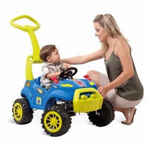 Carro Passeio Infantil Pedal Smart Azul - Bandeirante