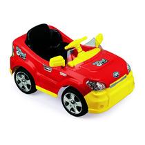Carro Elétrico Sout Car Com Rádio Controle Vermelho Homeplay