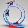 Pista Hot Wheels Super Loop...boucle Rev Ups