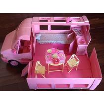 Furgão / Trailler / Van Da Barbie Completo!!! Anos 90 !