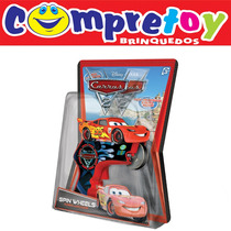 Spin Wheels Turbo Lançador Carros Disney Yellow; Filme
