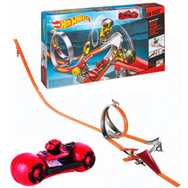 Hot Wheels - Pista Curvas Rápidas - Hw Race Moto - Mattel