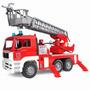 Caminhão De Bombeiro Man Com Escada Brinquedo Bruder 2771