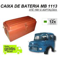 Caixa Bateria Caminhao Mb 1113 E Adaptação 3445400050
