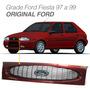 Grade Frontal Radiador Original Pintada Ford Fiesta 96 A 99