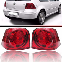 Par Lanterna Traseira Red Golf 00 A 06 Tuning Rcd