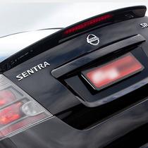 Aerofólio Com Backlight Nissan Sentra Sr 2.0 2007/2013
