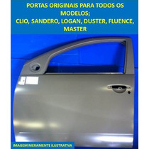 Porta Dianteira L / E Do Clio Novo 2013