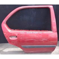 Porta Traseira Direita Fiesta Street Sedan 2002 Original