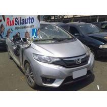 Paralama Parachoque Capo Farol Grade Honda New Fit 2015