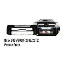 Overbumper Hilux 2005/2008 (2009/2010) Preto E Prata