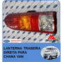 Lanterna Traseira Direita Para Chana Van E Furgão