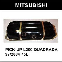 Tanque Combustivel L200 Quadrada 97/2004 75 Litros Plastico