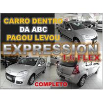 Sandero 1.6 Flex Expression Completo Ano 2013 - Financio