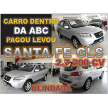 Santa Fé 2.7 V6 Blindada Ano 2008 - Financio Sem Burocracia