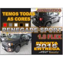 Jeep Renegade Sport 1.8 Flex Automatica 2016 Pronta Entrega