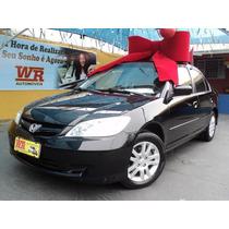 Honda Civic 2006 Lxl 1.7 Raridade Completo Em Campinas-sp