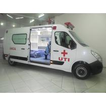 Renault Master Ambulância Uti L3h2 13m³