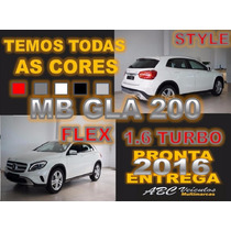 Mercedes Gla 200 Style 1.6 Turbo Flex 0km Pronta Entrega
