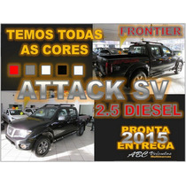 Frontier 2.5 Sv Attack 4x4 Diesel Ano 2015 - Pronta Entrega