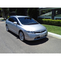 Honda Civic Si 2008 Top Kit Multimidia Couro Rd Aro 18 Bx Km