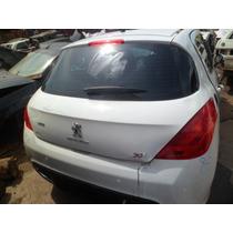 Carros Batidos Peugeot 308 Active 1.6 16v Flex Manual Peças
