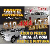 Nova S10 Ltz 2.5 Flex 4x4 Manual - 15/16 - Zero Km - R 7 Y