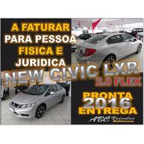 Civic Lxr 2.0 Automatico - Zero Km -15/16 - Pronta Entrega