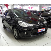 Citroen C3 Exclusive 1.6 Vti Flex Start 2013 Top De Linha !!