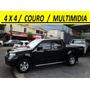 Nissan / Frontier Xe 10/10 4x4 Couro Multimidia Pneus Novos