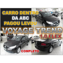 Voyage Trend 1.0 Flex Completo Ano 2011 Financiamento Facil