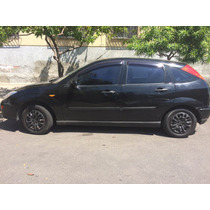 Ford Focus 2002 Completo Hatch Preto 4p Gnv