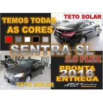 Novo Sentra 2.0 Sl - Teto Solar -15/16- 0km - Pronta Entrega