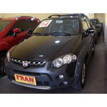Fiat Strada Adventure Cd Motor 1.8 2014 Preto 3 Portas