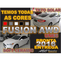 New Fusion 2.0 Awd - Teto Solar -2016- C/ Soft Ceramic Une 6