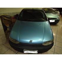 Fiat Palio Edx 4portas Azul 1998 Estudo Troca