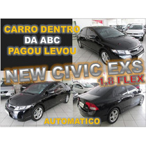 Civic Exs 1.8 Flex Automatica Ano 2008 - Financiamento Facil