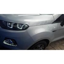 Ecosport Nova !!! Única Bi-xenon Com Led E Drl Diurno 38km