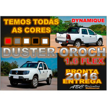 Duster Oroch Dynamique 1.6 Flex - Ano 2016 - Pronta Entrega